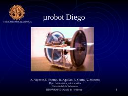 Presentación del robot DIEGO en ppt