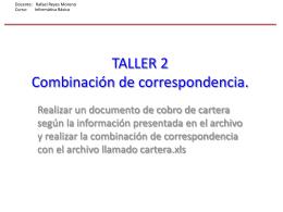 TALLER 2 - redderedes05