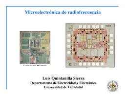 Microelectrónica de radiofrecuencia