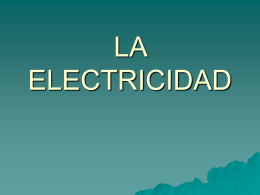 LA ELECTRICIDAD - mi centro educativo