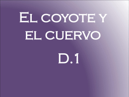 El coyote y el cuervo
