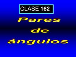 Clase 162: Pares de Ángulos
