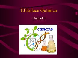 El enlace químico
