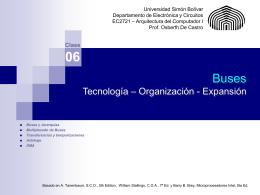 Buses - prof.usb.ve. - Universidad Simón Bolívar