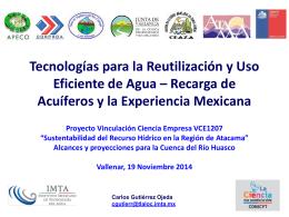 Instituto Mexicano de Tecnología del Agua (IMTA)