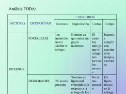 FODA 2-grupo 4 - ProyectoAreasVerdes2