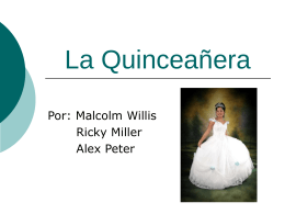 La Quinceañera - spa5cuartoperiodo2011