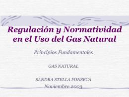 Recálculo del Dt para GAS NATURAL S.A.
