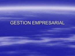 Gestion_Empresarial - ISET N° 812 sede Cholila