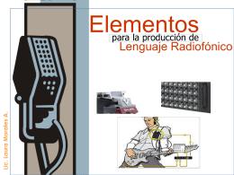 lenguaje radiofónico 1