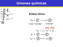 Tema 3b Uniones químicas - Electromagnetismo