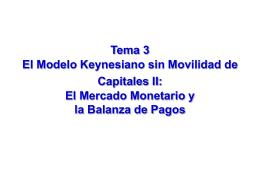 3. El modelo Keynesi..