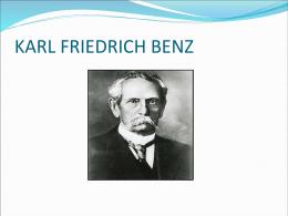 KARL FRIEDRICH BENZ - emiliogalileotecno