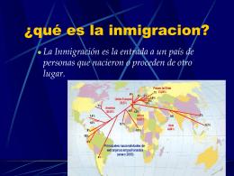La inmigración en el Perú - Sociales-TIC