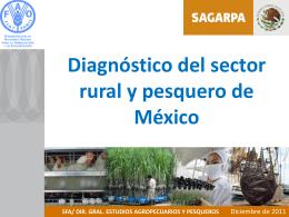 Diagnóstico del sector rural y pesquero de México