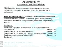 Wireless - Universidad de Buenos Aires