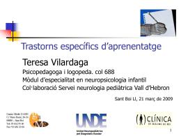 Descarreca`t la conferència de la Sra. Teresa Vilardaga