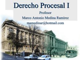 Derecho Procesal Funcional.