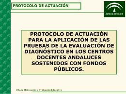 DG de Ordenación y Evaluación Educativa.