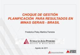 Director de Informaciones de Minas Gerais del Brasil.