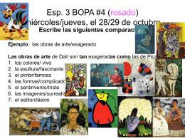 Esp. 3 BOPA #1 (verde) martes, el 2 de septiembre