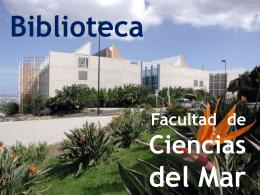 Diapositiva 1 - Biblioteca ULPGC