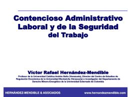 Derecho Administrativo Laboral