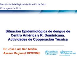 Situacion subregional_SRSS_ago2013