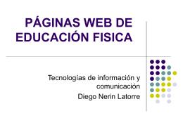 páginas web de educación fisica - Educación Fisica Master Huesca