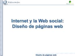 Diseño de páginas web Diseño de páginas web Páginas web