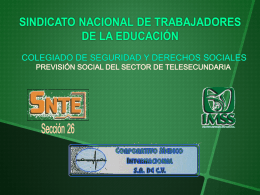 PRESENTACION PREV. SOCIAL FEBRERO 2014