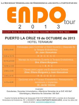 Presentación de PowerPoint - Sociedad Venezolana de Endodoncia