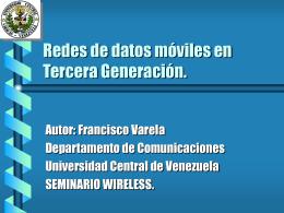 CDMA2000 - Universidad Central de Venezuela