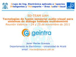 Presentación GEINTRA-UAH