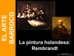 Pintura barroca europea, Rembrandt