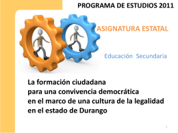 Diapositiva 1 - Telesecundaria