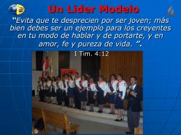 Un liderl Modelo CONQUISTADORES 2009