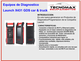 Equipos de Diagnostico Launch X431 GDS car & truck