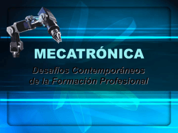MECATRONICA - campus virtual utu