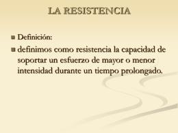 LA RESISTENCIA - EDFISICACINTEGRADO