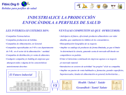 Industrialización - Fitini.NET ConsultinG