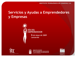 Presentacion 4 - Cabildo de Lanzarote