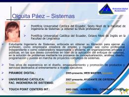 Consultores - Olga M Paez
