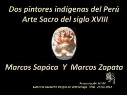 Marcos Sapaca y Marcos Zapata
