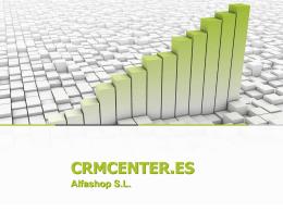 Presentación CRMCENTER.ES