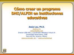 Pon creación programa DHI - E4 - Bogotá 2