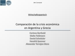 Folie 1 - WirtschaftsspanischWS2011-12