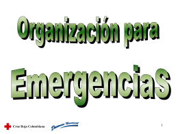 TRANSPARENCIAS ORGANIZACION
