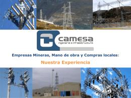 La experiencia CAMESA - Grupo de Diálogo, Minería y Desarrollo