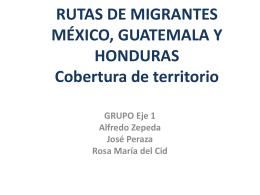 El corredor migratorio en México: entre la
